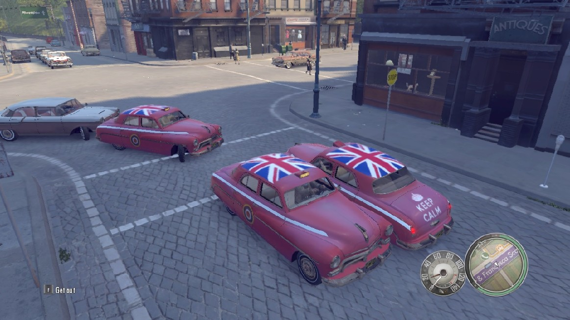 mafia 2 mod car british raf taxi 3 color and special paint at mafia 2 mods and community. Black Bedroom Furniture Sets. Home Design Ideas