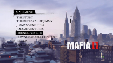 Mafia 2 DLC Friends for Life