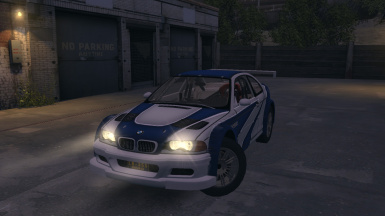 BMW M3 GTR E46 - NFS Carbon 2006 version