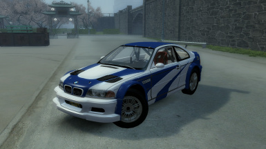 Bmw M3 Gtr E46 Nfs Most Wanted 2005 Version At Mafia 2 Mods And Community