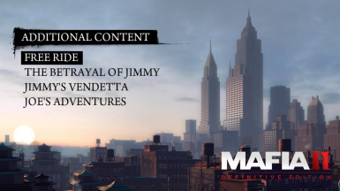 Mafia 2 Definitive Edition Free Ride