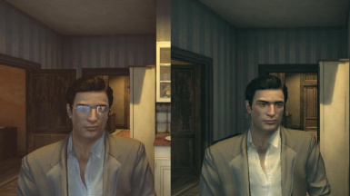 Mafia 2 MOD Remove glasses from 2 DLC Vito