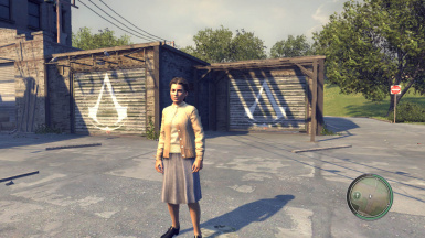 Mafia 2 MOD Assassin's Creed Symbol Garage
