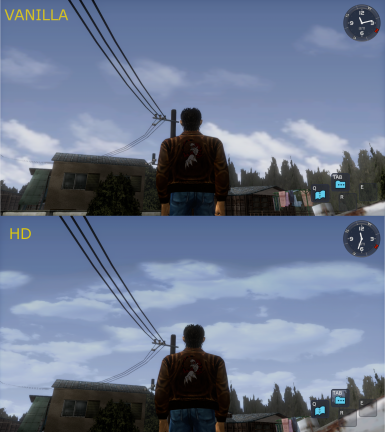 HD Skybox for Shenmue I