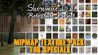 Full Mipmap Texture Pack for SpecialK (Shenmue I)