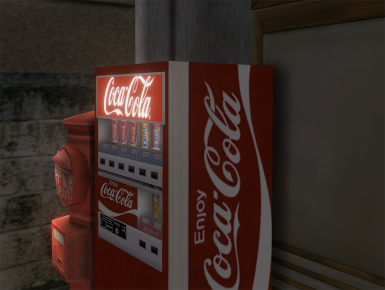HD Coke Machine