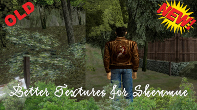 Streamer2k Textures - Better Textures for Shenmue v2.1 (Native mod)