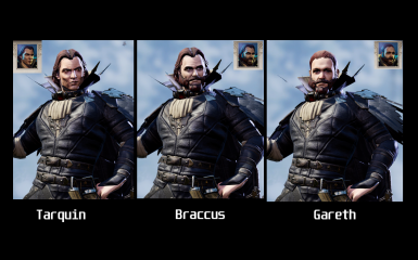 More faces - character creation