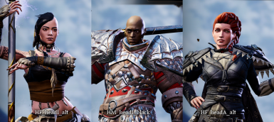 Character Creation Replacers