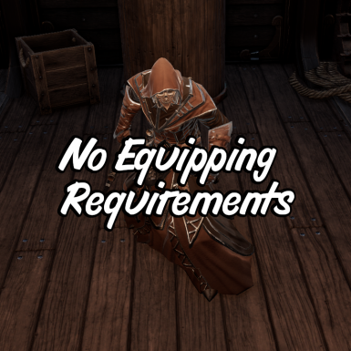 No Equipping Requirements