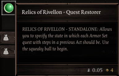 Relics of Rivellon - Stand Alone