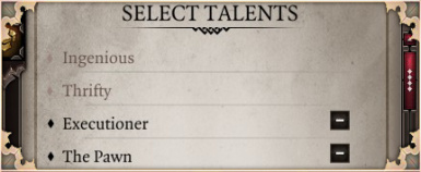 No Talent Combo Restrictions