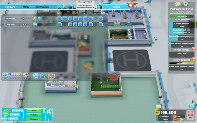Job Assign Helper at Two Point Hospital Nexus - Mods and Community