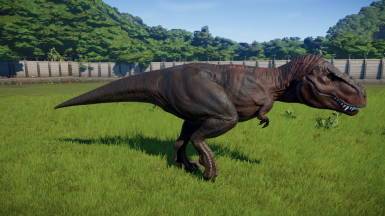 New skins for the Tarbosaurus by TigerRed1298