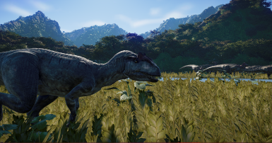 THE ALLOSAURUS