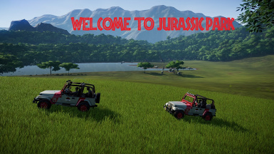Welcome... to Jurassic Park