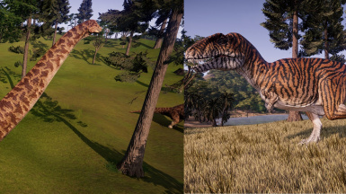 Mrtroodon S Dreadnoughtus And Acrocanthosaurus Models With New Skins At Jurassic World Evolution Nexus Mods And Community Update dinosaur textures at runtime. jurassic world evolution nexus mods