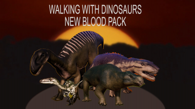 Walking With Dinosaur New Blood Pack