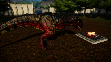 Jurassic World The Game Skin Pack