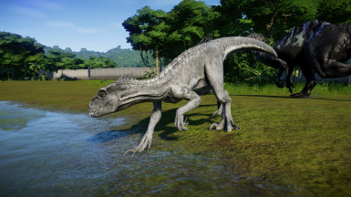 White Indoraptor