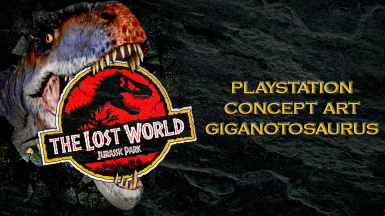 The Lost World Concept Art Giganotosaurus