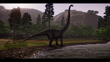 TLW Mamenchisaurus Model Edit