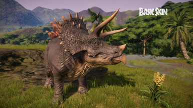 Natural Looking Stegoceratops (Model and Skin Edit)