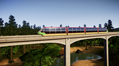 JP themed Monorail