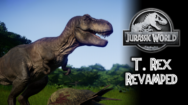 Revamped Jurassic World T. rex