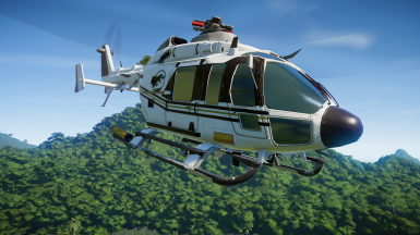 Excavation Center Helicopter