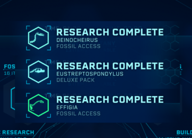 The mod includes all icons, including research center