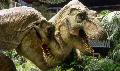 More accurate film tyrannosaurs