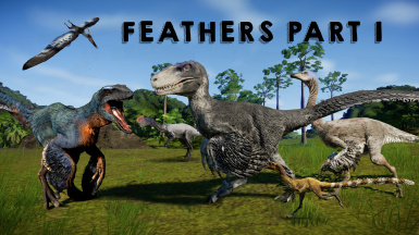 Feathered Dinosaur Model Pack - Part 1