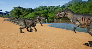 Torvosaurus New Species Fixed Variants