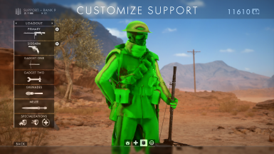 Green Army Men Mod BF1