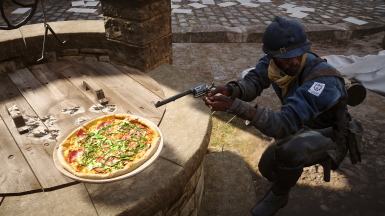 Pizza replace AT Mine