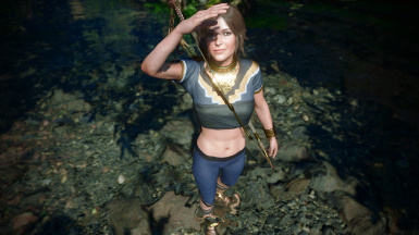 Blue Heron Outfit - Summer Style