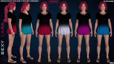 T-SHIRT DRESS OUTFITS PACK MOD