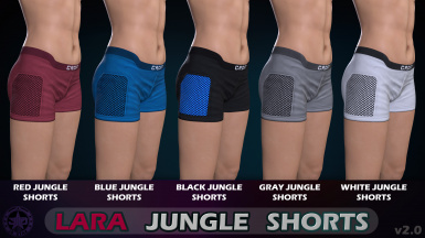 Lara Jungle Shorts
