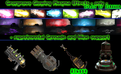 Gorgeous Glowing Plasma Effects only fo76 by Diranar