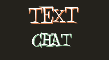 Text Chat (Now with Clans)