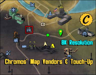 Chromos' Map Vendors and Touch-Up