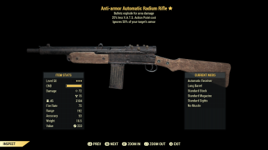 Clean Radium Rifle