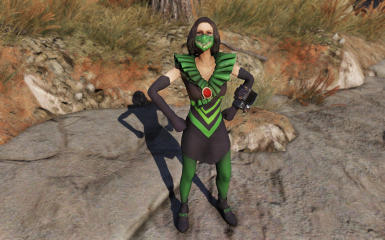 Green (With stocking tint)
