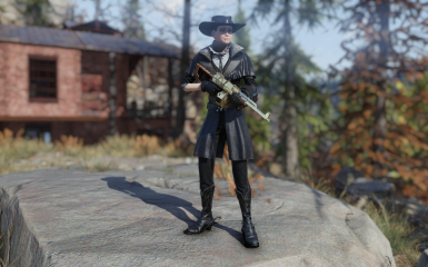 Starlet Sniper - Black Edition at Fallout 76 Nexus - Mods