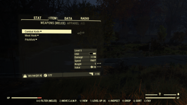 Better Inventory at Fallout 76 Nexus - Mods and community