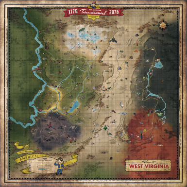 Fallout 76 Cell ID Map