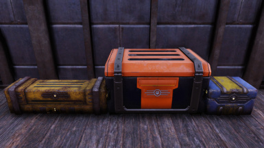Clean Nuclear Winter Stash Box Rewards at Fallout 76 Nexus