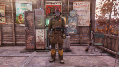 Pre-war Firefighter Outfit