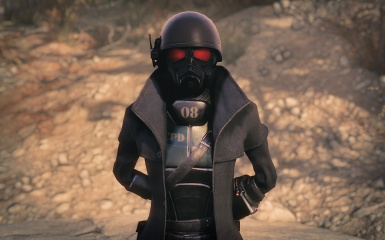 Clean NCR Ranger Outfit (4k)